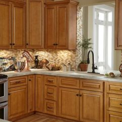 Craftsman Style Kitchen Hardware Cabinet Organizers Cabinets To Go. Westminster Glazed Toffee | Home Styles I ...