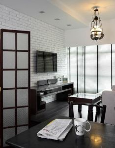 Ang mo kio ave retro hdb interior design living  dining room also and on pinterest rh
