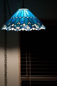 Day 41  Tiffany Lamp? | Stained glass lamp shades ...