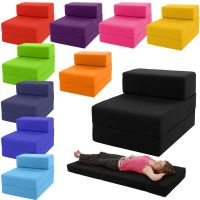 Single Chair Bed Z Guest Fold Out Futon Sofa Chairbed ...
