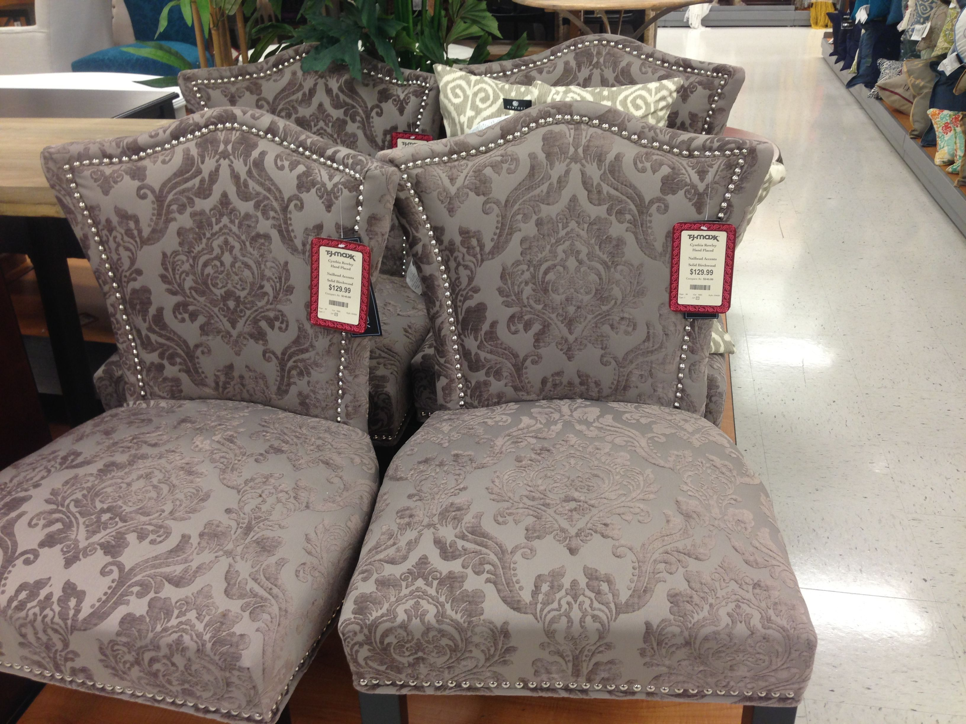 cynthia rowley chairs at marshalls racer computer chair i found four of these gray in portland area