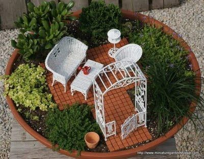 Miniature Garden Plants Oh So Cute And Such A Great Idea For