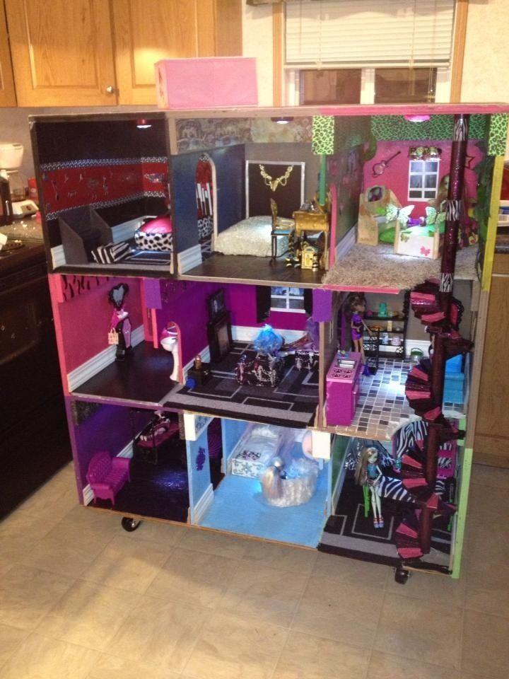 Monster High Doll House Monster High House Monster High Dolls