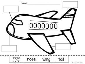 Perfect for Transportation Units! Students practice their