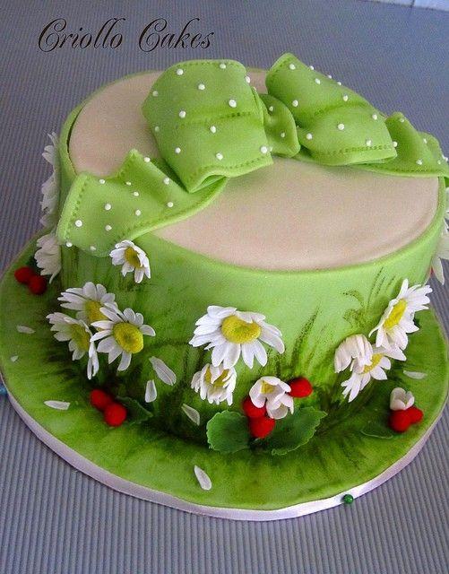 Garden Cake By Loobylou Motivtorten Pinterest Gardens Cakes