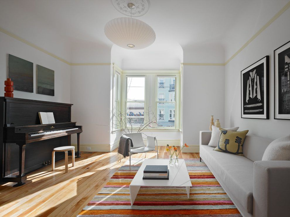 Piano rooms decorating ideas family room contemporary with