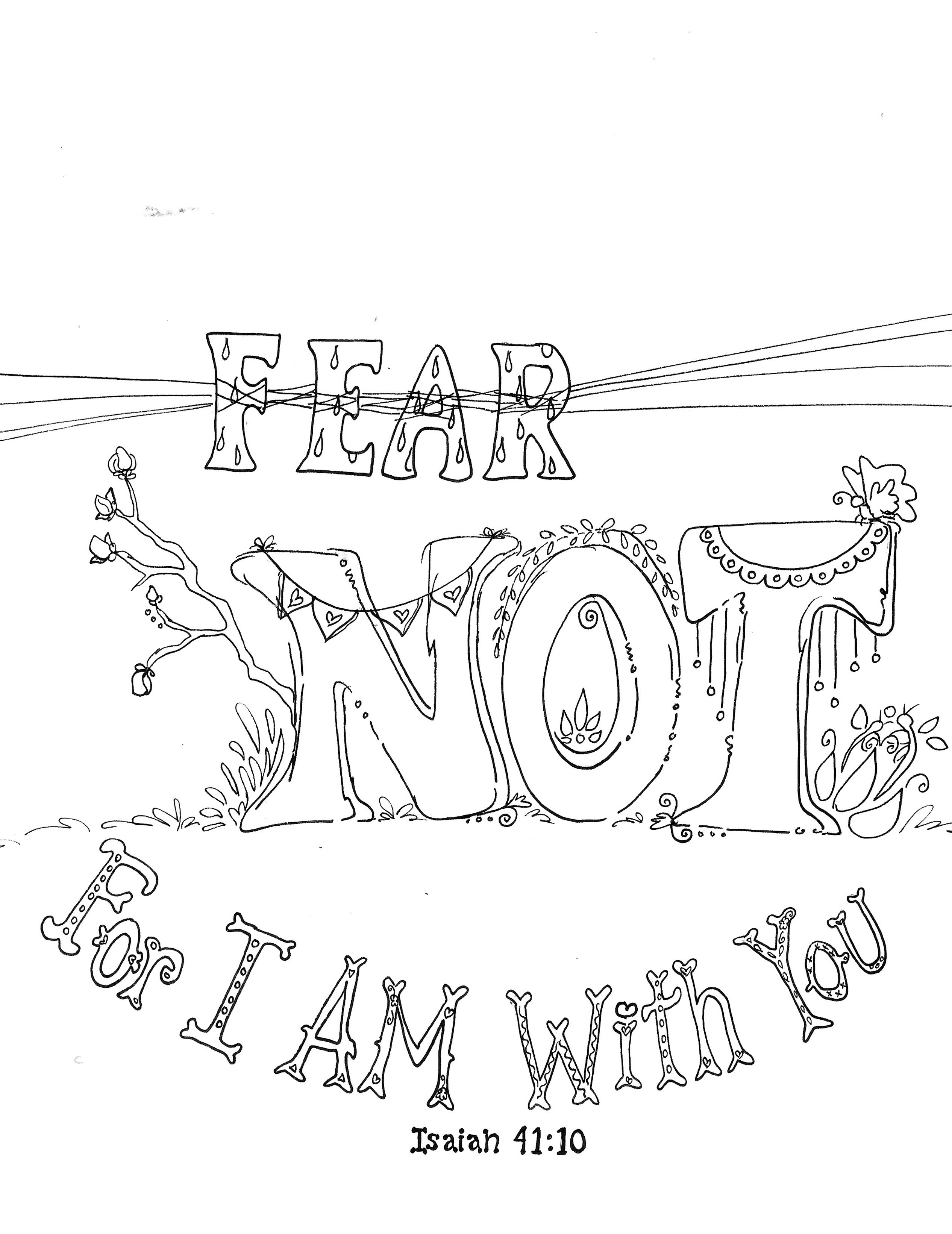 Worksheet About Fear