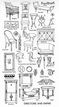 DIRECTOIRE & EMPIRE FURNITURE GUIDE   Furniture ...