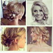 prom hair ideas heart