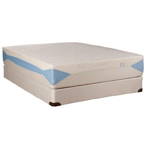 Blu Tek Ice King Memory Foam Mattress By Kingsdown Baer S Furniture Miami