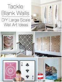 Decorating Large Walls on Pinterest | Long Wall ...
