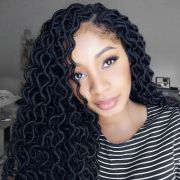 crochet curly locs hair fairy