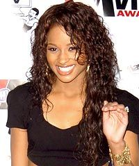 Ciara Wet And Wavy Braids Hairstyle CELEB HAIRSTYLE Pinterest