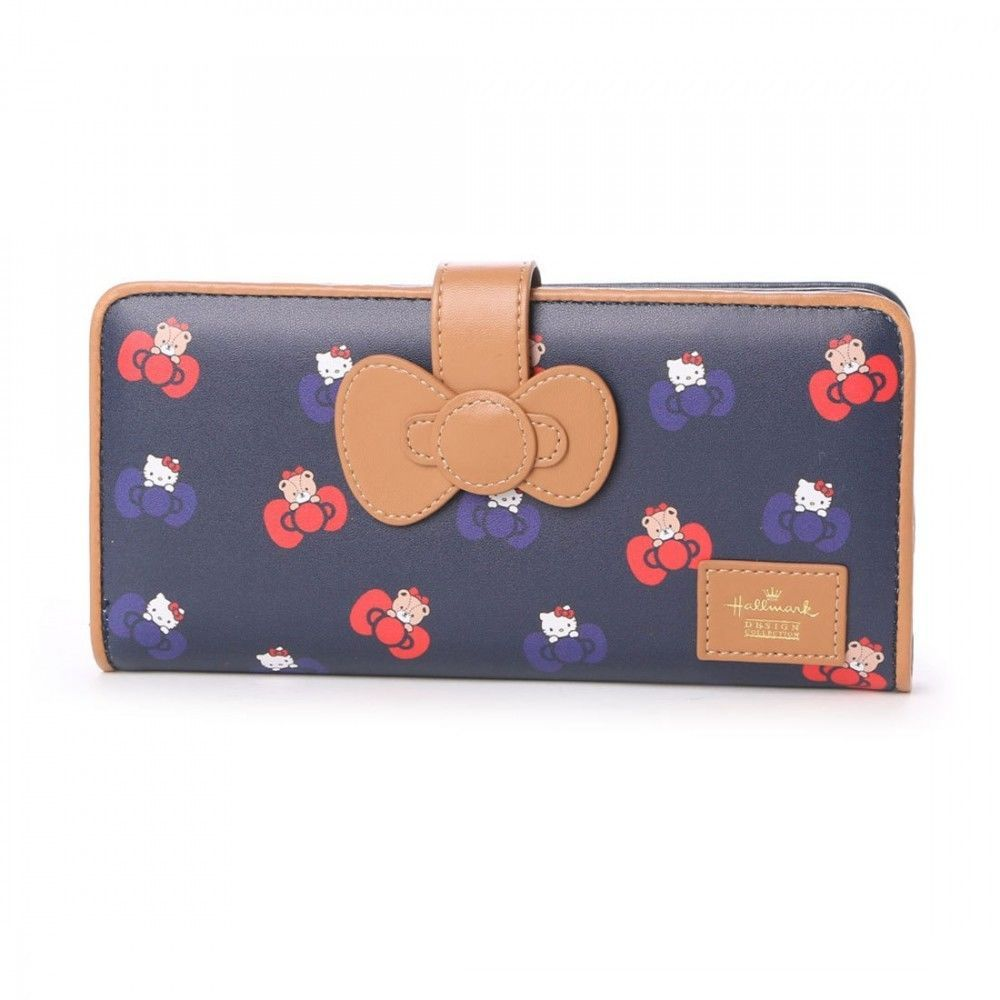 medium resolution of hello kitty x hallmark long wallet purse coin card case bag sanrio japan l1002
