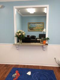 Reception window in my new office | pediatric office ...