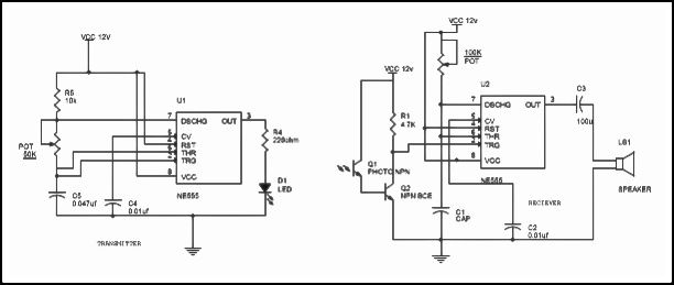 Motion Detector Circuit Diagram, Working and Applications