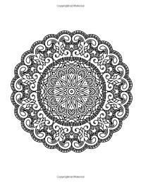 Zen Transcendental Mandala Coloring Book for Adults and ...