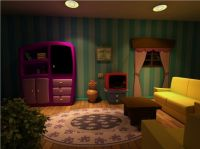 cartoon living room - stage set | fantasiejotel ...