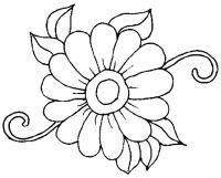Ausmalbilder Blumen Zum Ausdrucken 01 | Blumen | Pinterest ...
