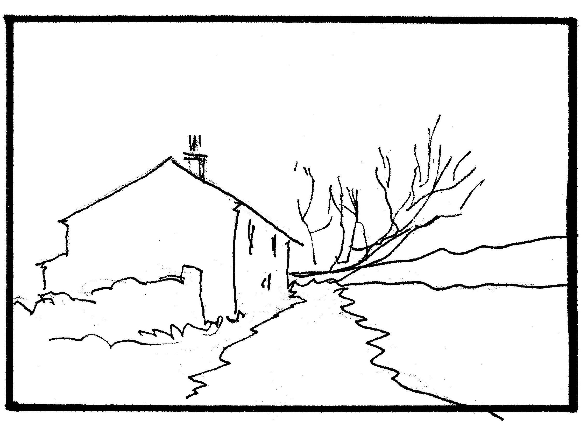 25 Landscape Drawing Outline Pictures And Ideas On Pro Landscape
