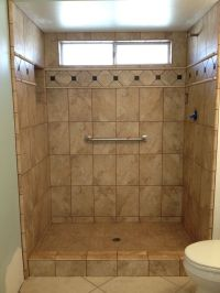 photos of tiled shower stalls
