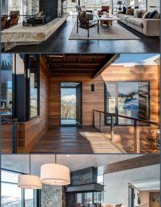 Modern montana mountain home also and house rh pinterest