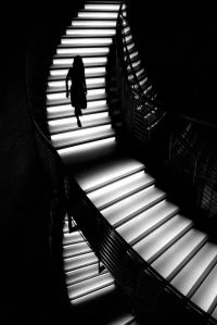 Staircase By Unknown Photographer (light shadow black ...
