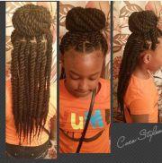 black kids twists hairstyles