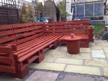 Pallet Outdoor Sofa Diy Projects 1001 Pallets