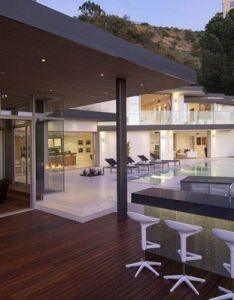 Doheny  cliff view modern home in hollywood hills california by luca colombo also massive residence with opulent displays the rh pinterest