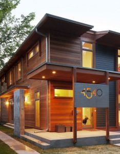 Urban green modern exterior minneapolis by sala architects house numbers also energy efficient home on  budget the project in rh pinterest