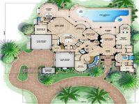 Beach House Floor Plans Design with garden | School Stuff ...
