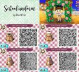 Animal Crossing New Leaf QR Codes School
