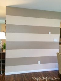 How to Paint Wall Stripes | Wall stripes, Paint walls and ...