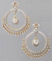 Modern Jewellery Designs: Bridal Earrings   Jewellery ...