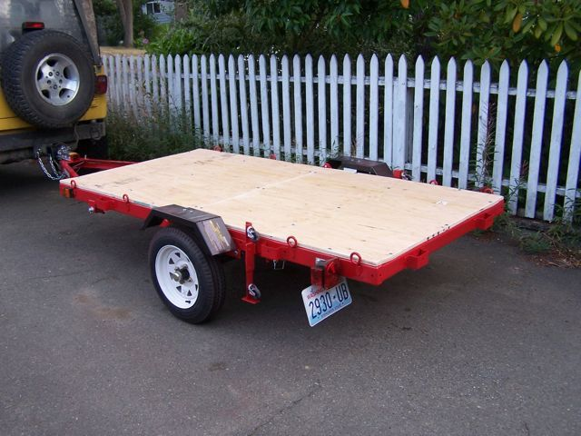 Harbor Freight Trailer Modifications