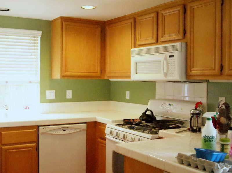 green kitchen paint colors  Google Search  Decor