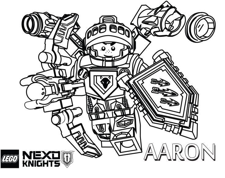 Nexo Knights Aaron Ausmalbilder 217 Malvorlage Nexo