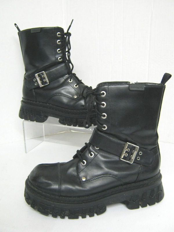 Bongo Rebel Combat Boots.ballzy Boots And Deeply