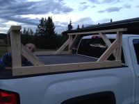 DIY Truck box kayak carrier | Birch Tree Farms | Kayaking ...