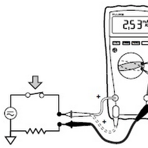 Measuring Current, voltage and resistance with fluke 179