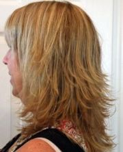 womens hairstyles mid length layered