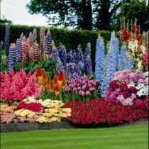 Flower Beds Designs For Perennial Flower Beds A Wow Factor Of