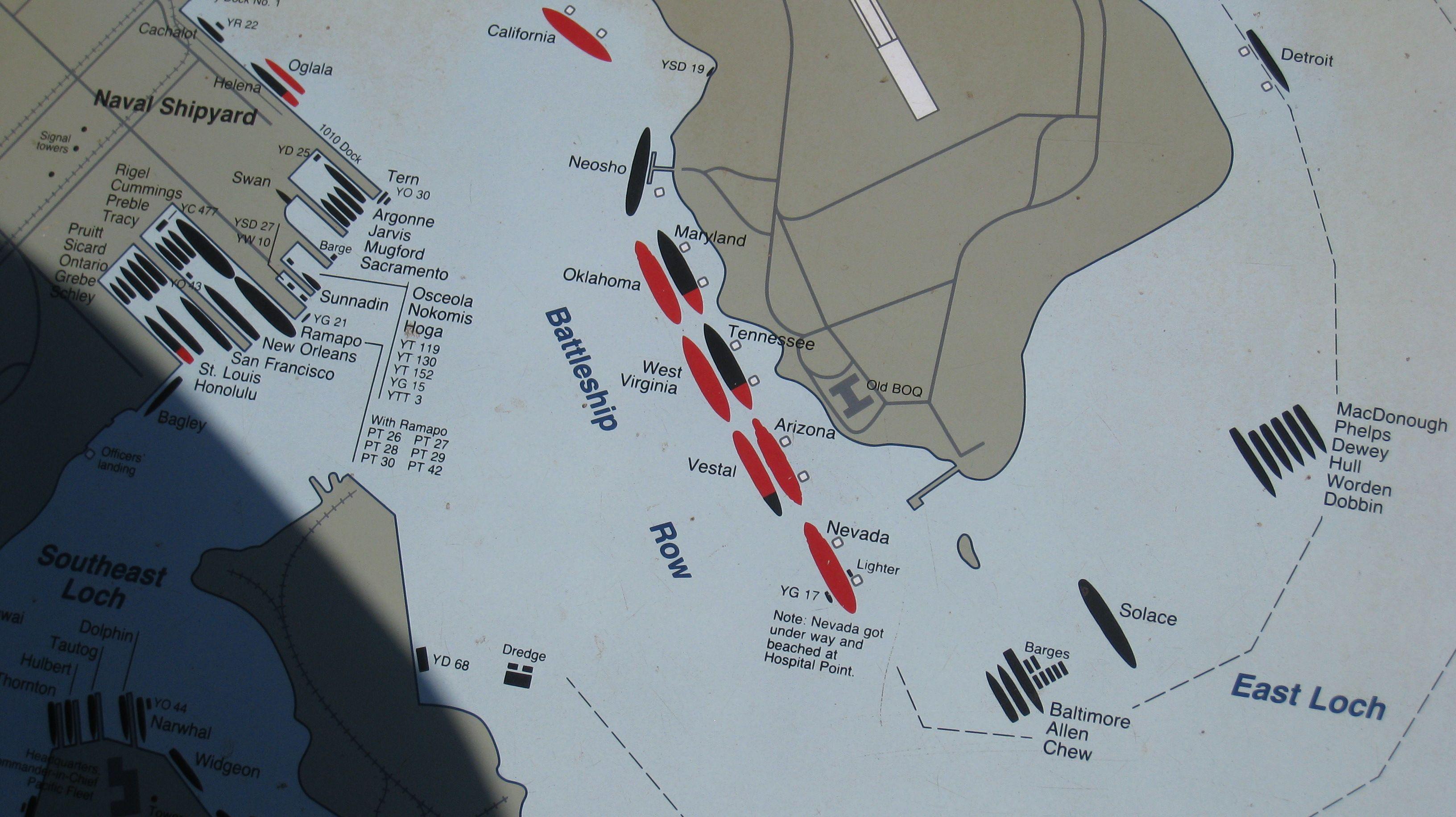 Battleship Row December 7