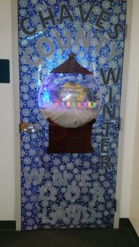 2014 Chaves County Finance/IHC Dept door decoration entry