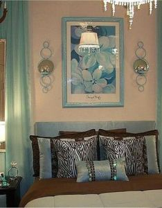 Glam on  dime with aqua brown and silver re purposed furniture also rh pinterest