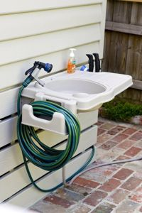Amazon.com: Portable Outdoor Sink with Detachable Hose ...