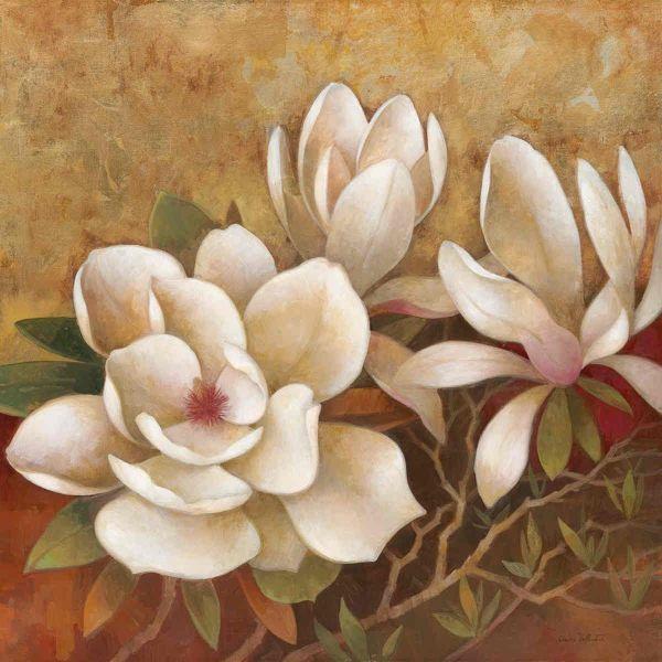 Sweet Magnolia Ii Elaine Vollherbst-lane - Art Print Framed & Unframed