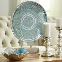 Large Decorative Plate With Stand   Wall Plate Design Ideas