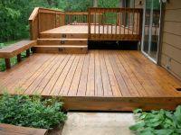 Great Deck Ideas - Sunset || InsteadFront-yard entry deck ...